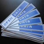 Open Data klistermærker